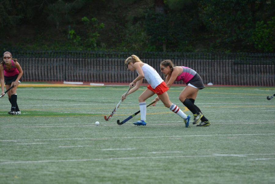 Phaedra+Robinson+%2717+defends+the+goal+during+the+playoff+game+against+Newport+today.+The+squad+lost+2-1.+Carina+Marx%2FChronicle