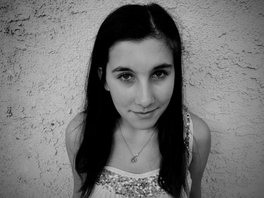 Esther Ollivier '18 recalls how the tragic events in Paris have affected her friends and family.  Credit: Lara Mikhail/Chronicle