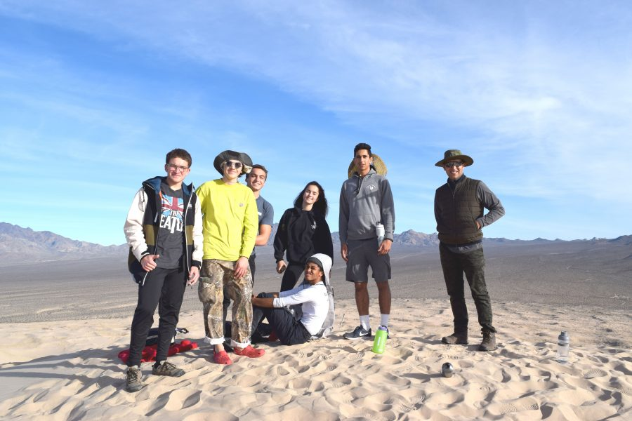 Geology and Geology Honors students visit Death Valley.  Printed with permission of Nancy Chen
