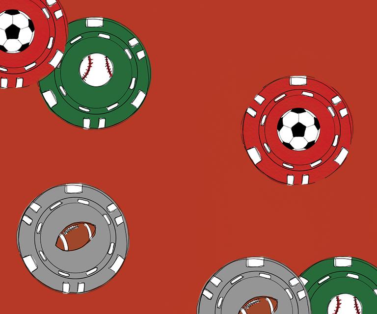 Sports gambling on campus