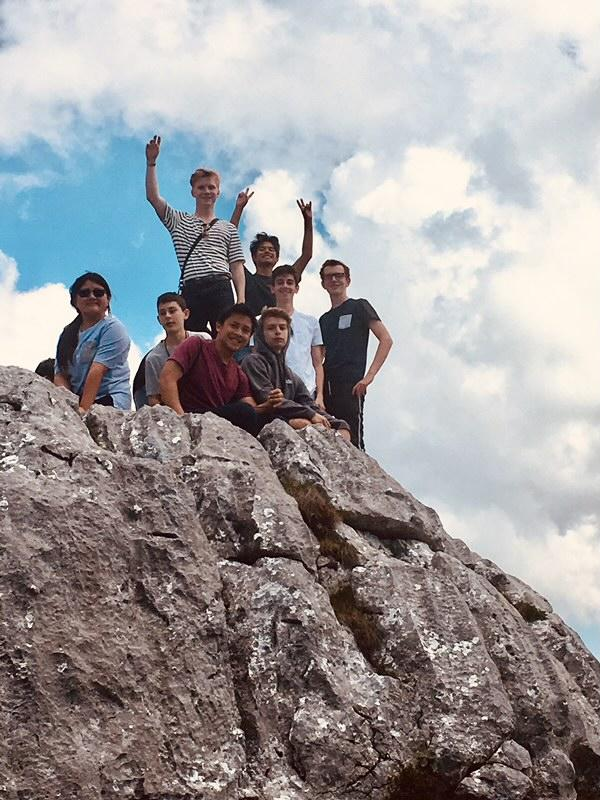 Students accompanied by faculty members visited Eagle's Nest, Adolf Hitler's secret hideout in the Berchtesgaden, Germany.