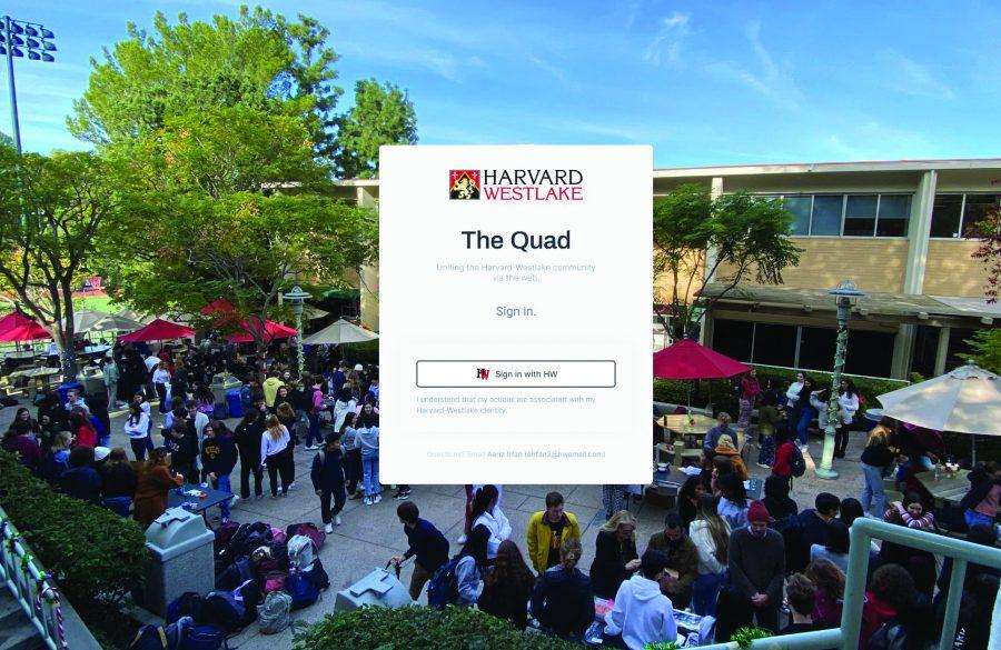 COMBATING CORONAVIRUS: Students hoping to engage with the school community can sign up for online events through The Quad.
