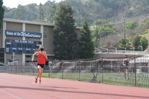 Varsity Runner Daniela Quintero