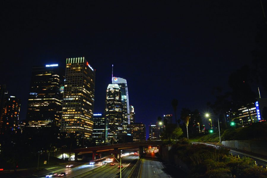 Downtown+Los+Angeles+at+night+is+full+of+activities+to+experience