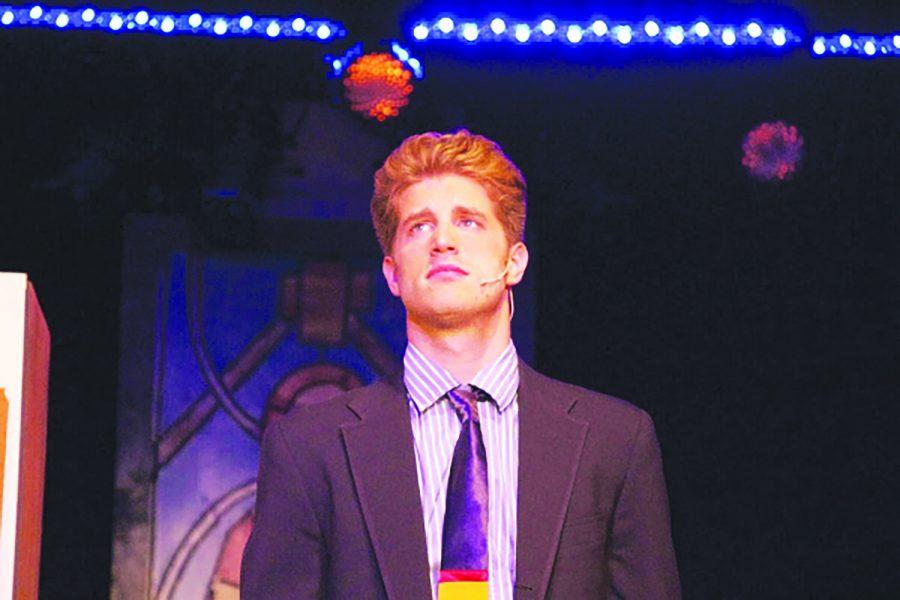 Jonah Platt '04 performs as Fiyero in