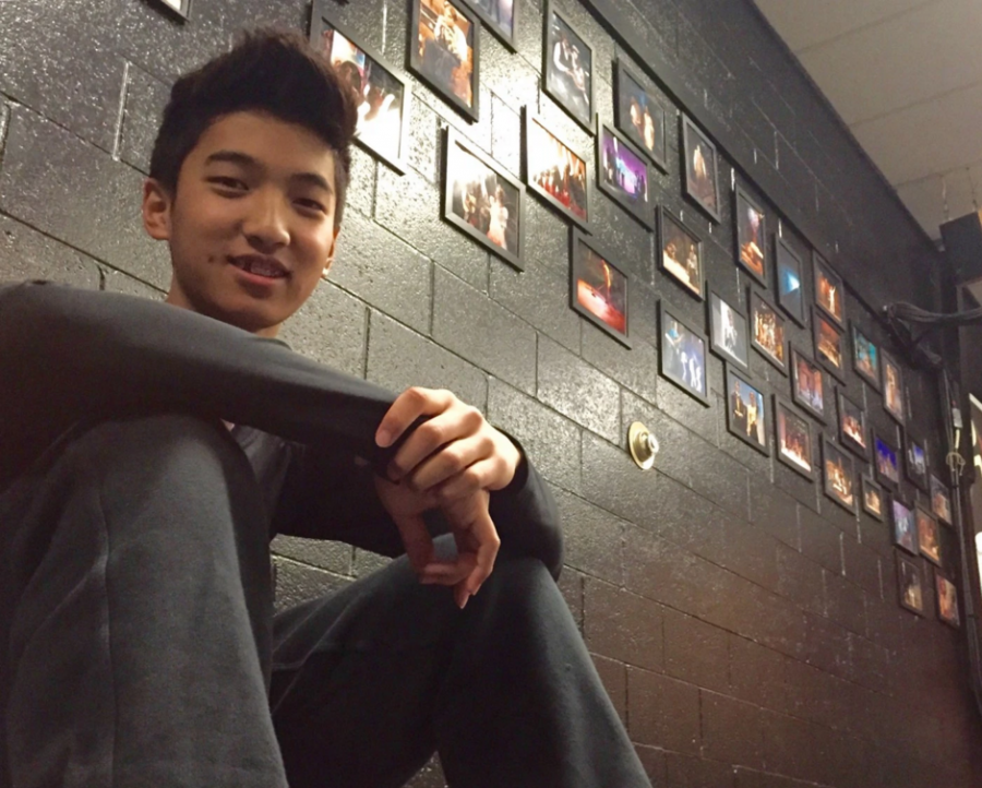 Justyn Chang 18 strives to make it big in the Korean entertainment industry. Credit: Eli Adler/Chronicle