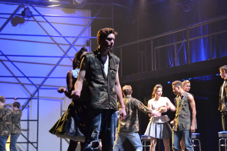 Casey Giolito '17 hopes to pursue a career in acting. Giolito, along with other students, must find a balance between career aspirations and school. Credit: Emily Rahhal/Chronicle