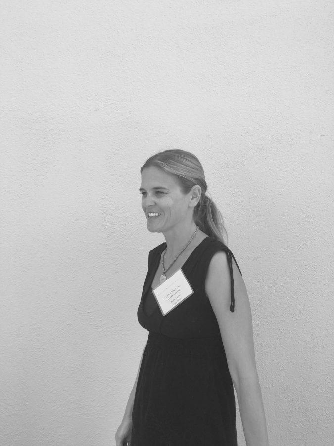 English teacher Jenna Dillon-Gasparino. Credit: Sofia Heller/Chronicle