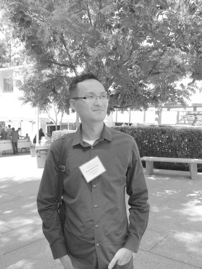 Math teacher Woo Young Sim. Credit: Alexandra So/Chronicle