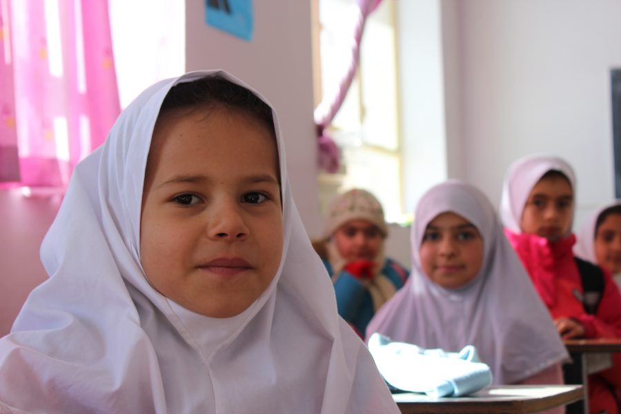 During+winter+break%2C+Nicole+Bahar+%E2%80%9918+visited+a+school+in+the+village+of+Shemshak%2C+Iran%2C+where+she+taught+English+to+elementary+school+students.+Bahar+has+been+working+with+Iranian+kids+since+ninth+grade+when+she+held+a+shoe+drive+for+students+in+Khorasan.+%0ACredit%3A+Printed+with+permission+of+Nicole+Bahar