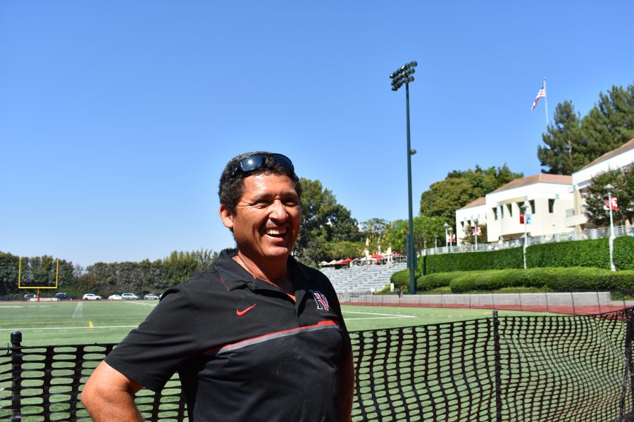 Director of Maintenance for Athletic Facilities Roberto Hernandez. Photo Credit: Astor Wu/Chronicle.