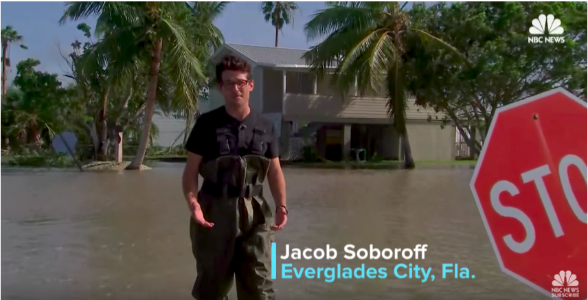 Earlier+this+week%2C+NBC+News%E2%80%99s+Jacob+Soboroff+%E2%80%9901+joined+residents+as+they+returned+to+their+homes+in+Everglades+City%2C+Florida%2C+an+area+hit+particularly+hard+by+Hurricane+Irma.+Credit%3A+YouTube%2FNBC+News.