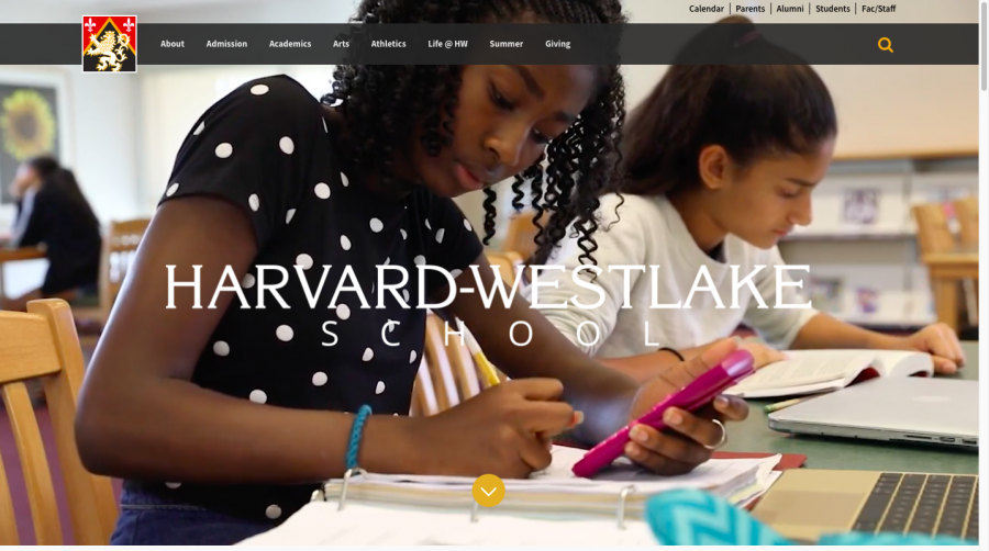 The updated website now features more visuals than the previous version, and includes small clips of students. Photo Credit: Saba Nia/Chronicle