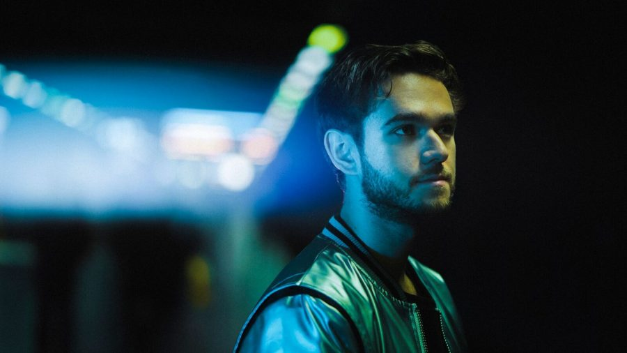 Musical artist Zedd in Stockholm (Printed with permission of Air and Style Festival)
