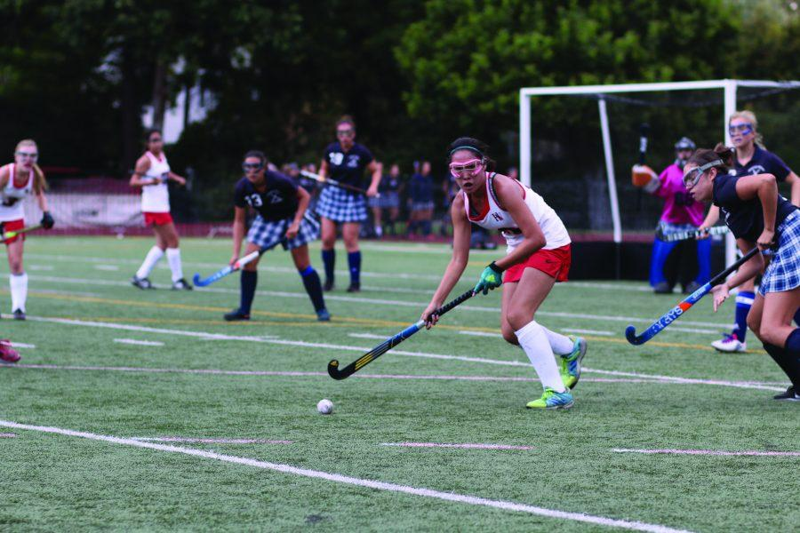 Stick it to em': Chronicle staff writer Astor Wu '20 controls the ball in a 5-0 home game win against Westminster High last season Sept. 5. The team finished 10-0  in league, shutting out its opponent in nine of the 10 games and only allowing one goal last season. The team will play Wesminster High again this season on Aug. 31. Credit: Ryan Albert/Chronicle
