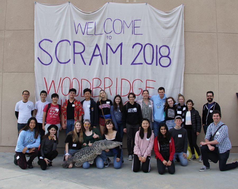 JCL poses for a group picture after competing in the the Latin SCRAM competition.