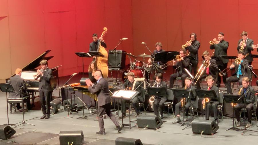 Ryan Wixen19 performs in honor bands