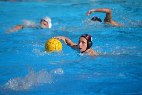 Attacker Shay Gillearn 21 controls the ball in the 21-1 win against St. Francis today. Credit: Sandra Koretz/Chronicle.