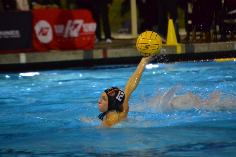 Attacker Shay Gillearn '21 prepares to shoot the ball in the CIF Southern Section Division I Championship. The Wolverines went on to win the game 6-4, winning the championship for a second year in a row. Credit: Sandra Koretz/Chronicle