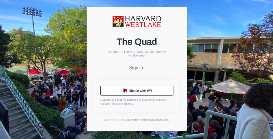 Prefect Council's 'The Quad' allows students to 'Zoom' into new events