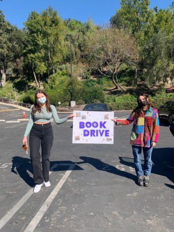 Juniors organize on-campus book drive