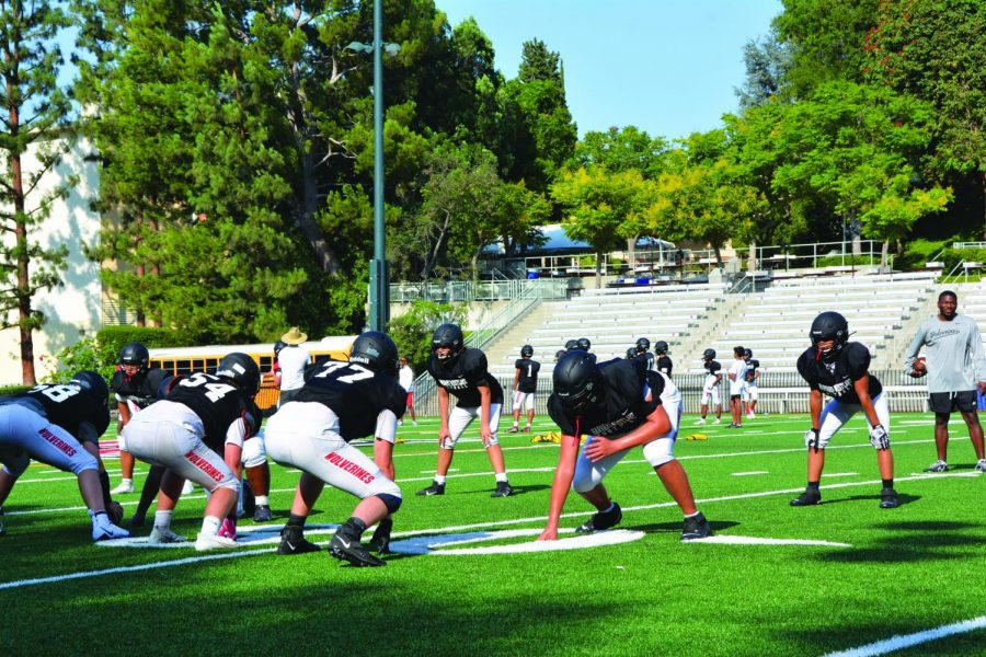 MASK OFF: During practices on campus over the summer, the school allowed sport teams that practiced outdoors to remove their masks, but sports that required indoor practices were heavily encouraged to continue wearing masks. Although discouraged, masks could be sometimes removed indoors during extreme activity.