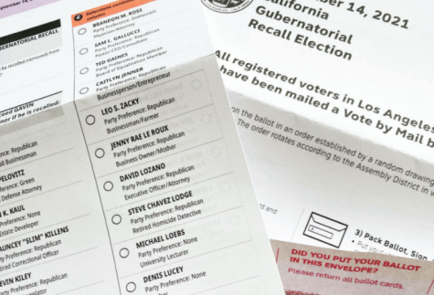 Students eligible to vote had the option to mail in their ballots for the Sept. 14 California gubernational recall election.
